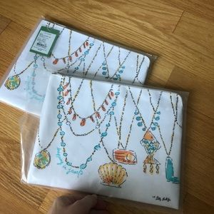 NWT Bundle of Lilly Pulitzer Pick me Up Clutch